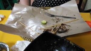Hasil Keganasan Terhadap Menu Nasi Ayam Kalasan Kedai Cherry - ITC Mangga Dua