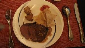 Grilled Beef, Tortilla Chips, Salsa: Asia Restaurant The Ritz Carlton Hotel Kuningan