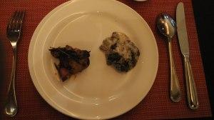 Beef Patty and Roasted Chicken - Asia Restaurant The Ritz Carlton Hotel Kuningan