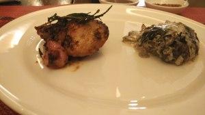 Beef and Chicken: Asia Restaurant The Ritz Carlton Hotel Kuningan