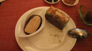 Shortbread & Pandan Cake: Asia Restauran The Ritz Carlton Hotel Kuningan